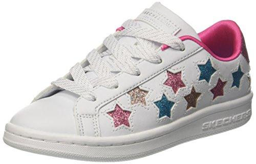 Skechers Mädchen Omne-Lil' Star Side Sneaker, Weiß (White/Multicolour), 29 EU (Schuhe Kinder Lil)
