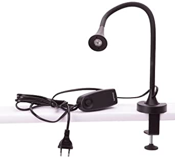 philips lampe de bureau led flexible noire luminaires et eclairage. Black Bedroom Furniture Sets. Home Design Ideas