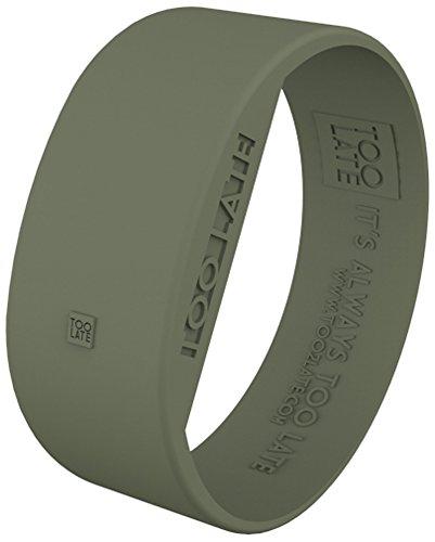 Armbanduhr Erwachsene Too 2late WTC LED BB Army Gre M