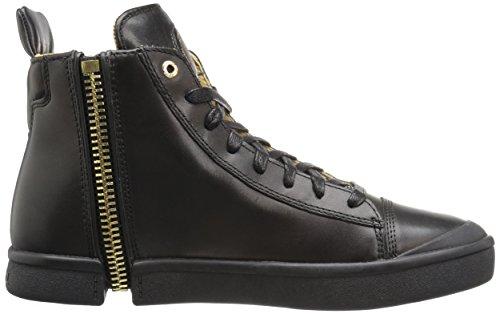DIESEL - Baskets basses - Homme - Sneakers Noires Zippé All Over Zip-around pour homme Noir
