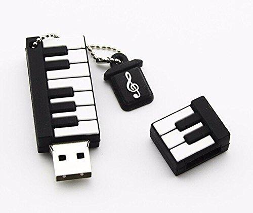 Elite Guard-Pianoforte USB 2.0Flash Drive 4GB 8GB 16GB 32GB 64GB Pen Drive 64 Gb