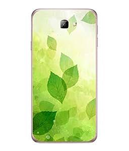 Fuson Designer Back Case Cover for Samsung On7 (2016) New Edition For 2017 :: Samsung Galaxy On 5 (2017) (line strips floral flower rangoli art)