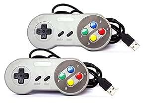 Retro GamePad SNES Style USB für PC Classic Controller