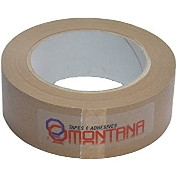 MONTANA Framers Tape Picture Framing Tape Self Adhesive Brown Paper ...
