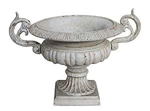 Nostalgie amphore plantation pots flower pot seau fonte for Amphore piscine decoration