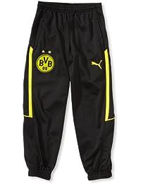 0f07d9811 Puma-Pantalón de chándal para niño, diseño de Escudo Negro Nero ...