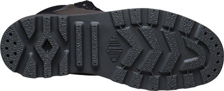 Palladium - Pampa Sport Cuff Wpn, Stivali Track Unisex – Adulto Nero / grigio