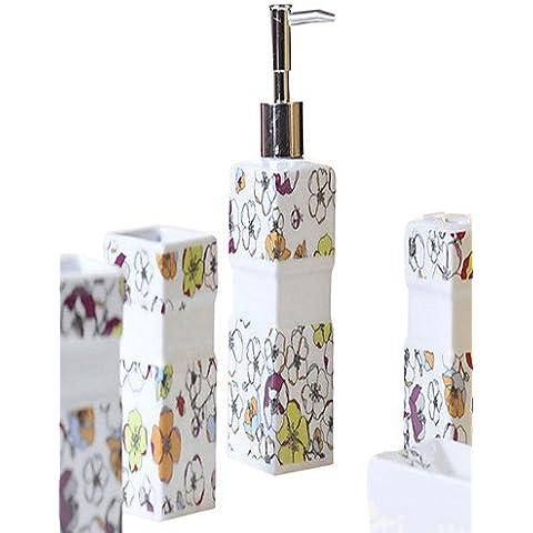 haisi accessori da bagno/Portasciugamani/Racks/ganci/dentifricio/spazzola/fine sapone dispenser per