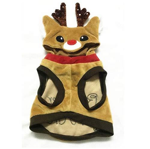 Rentier Kostüm Katze - Snaked cat Hund Haustiere Weihnachten Hoodie