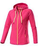 Reebok Women's Essentials Play Dry Hooded Jacket - Candy Pink