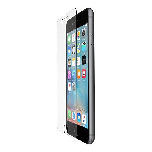 Belkin - Pack de 2 Écrans Protecteurs Transparents pour iPhone 7 (Compatbles avec iPhone 8) Tempered Glass