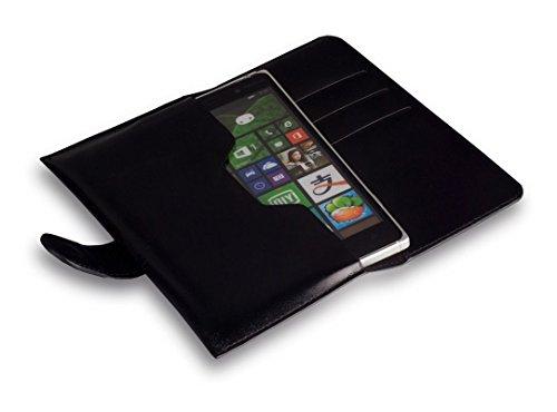 bookstyle-handytasche-flip-case-schwarz-geeignet-fur-alcatel-one-touch-idol-3-55-zoll-handy-schutz-h