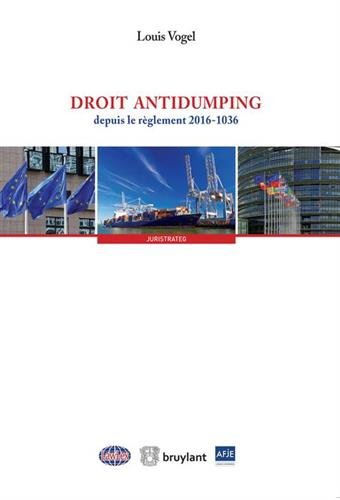Droit antidumping par Louis Vogel