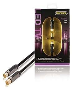 Profigold PROL8703 Connecteur d'antenne + Adaptateur Mâle/Femelle Série LED 3 m