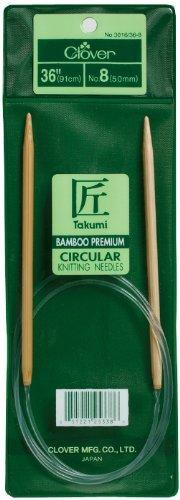 Brand New Takumi Bamboo Circular Knitting Needles 36-Size 7/4.5mm Brand New by M1N4B5