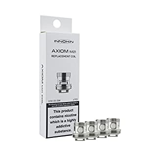 INNOKIN AXIOM M-21 REPLACEMENT COILS - In Hand - Authentic UK Seller - x4 - M21 (0.6 Ohms - 35-65w)
