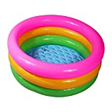 WYD Runde Drei Kinder Aufblasbare Pool Baby Pool PVC Verdickung,120*25Cm