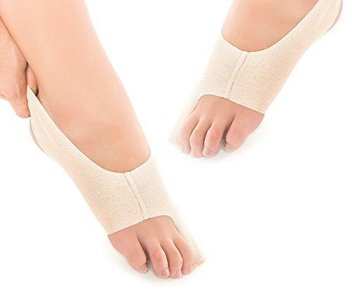 Bunion Bootie, Hallux Valgus Korrektur Bandage mit geschlossener Zehenkappe (No Toe Hole) Mehrfachwechselsets 1 Paar, Größe S (Links und Rechts) ... (Schuheinlagen Bunions)
