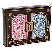 US Playing Card Co. KEM - Carte da poker Arrow Narrow Jumbo Index