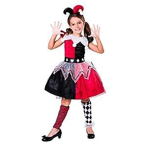 My Other Me Me Me- Arlequina Circus Disfraz Color rojo 206123