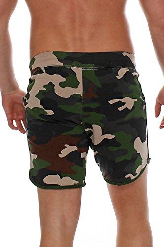 a770a3ea51e7 ... Happy Clothing kurze Herren Hose Shorts Bermuda Jogginghose Sommer  Pants Stoffhose Sweathose Camouflage