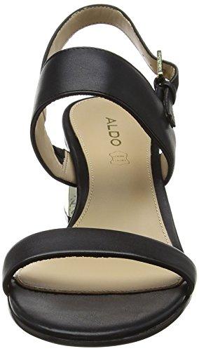 Aldo - Brandey, Strap alla caviglia Donna Black (Black Leather)