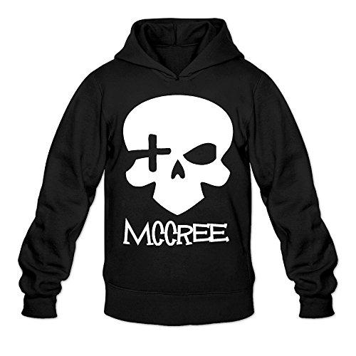 Preisvergleich Produktbild vorgehen Tanzer Totenkopf Schädel Herren hoodies Sweatshirt Größe M Schwarz
