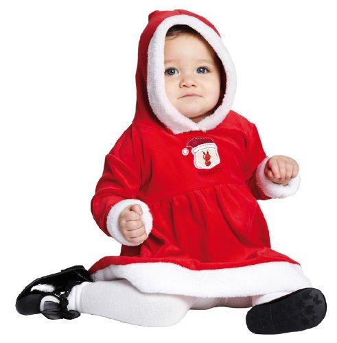 Kostüm Anzug Rubies Santa - Rubie's Weihnachten Kinder Kostüm Little Miss Santa Anzug verkleiden