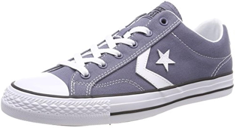 Converse Star Player Ox Light Carbon/White/Black, Zapatillas Unisex Adulto