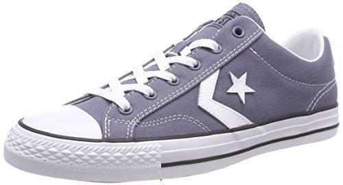 Converse Unisex-Erwachsene Star Player OX Light Carbon/White/Black Sneaker, Grau (Light Carbon/White/Black 534), 38 EU