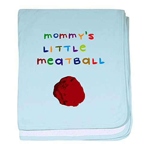CafePress - Mommy's Little Meatball - Baby Blanket, Super Soft Newborn Swaddle