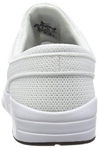 Nike - 631303-100 - Chaussures De Planche À Roulettes Blanc - Weiß (100 WHITE/BLACK)