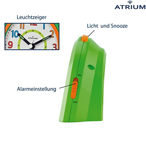 Atrium Kinderwecker A921-3, grün - 2