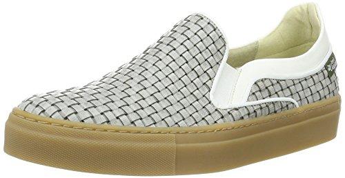 Jonny´s Vegan Damen Delfina Sneaker Mehrfarbig (GRIS / BLANCO)