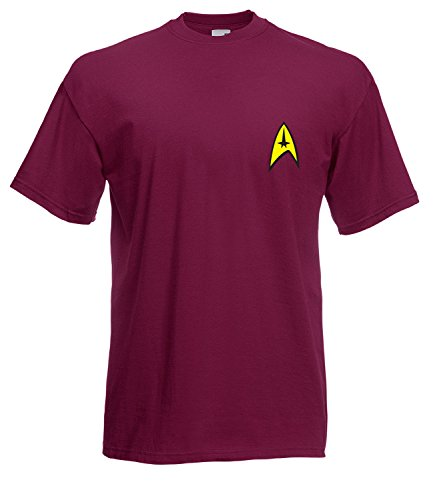 Star Trek Spock Captain Kirk Style Inspired High Quality T Shirt - All Sizes All Colours