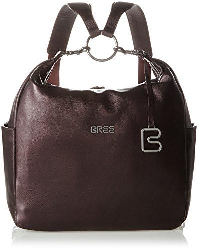BREE Damen Nola 6 S17 Rucksackhandtasche, Rot (Winbronze), One Size