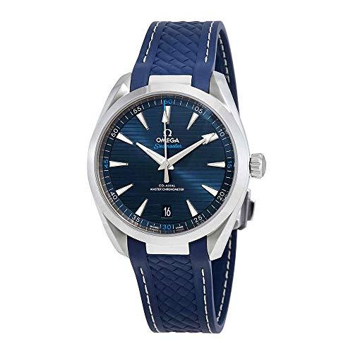 Omega Seamaster Aqua Terra Blau Zifferblatt 41mm Herren-Armbanduhr 220.12.41.21.03.001