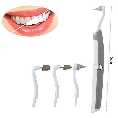 SHT Multifunción De Dientes Sónicos Borrador De La Placa De Eliminación De Placas Dentales Kit De Herramientas De Higiene Bucal Cuidado con Luz LED