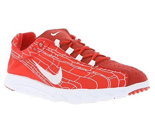 Nike Mayfly, Chaussures de Running Entrainement Homme, Noir (Schwarz) Multicolore - Rojo / Blanco (University Red / White)
