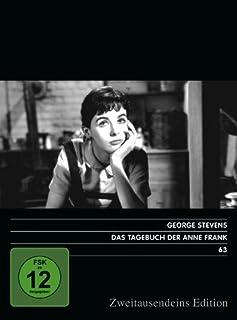 Das Tagebuch Der Anne Frank. Zweitausendeins Edition Film 63.