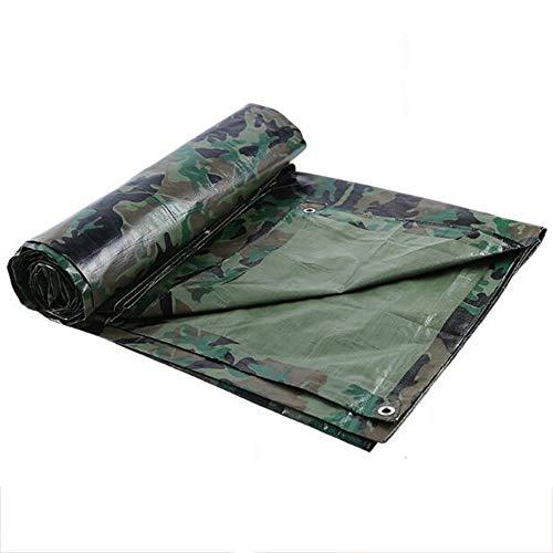 WHP YB Outdoor Tarnung Wasserdichtes Tuch, Camouflage Tuch Wasserdichter Sonnenschirm Markisentuch...