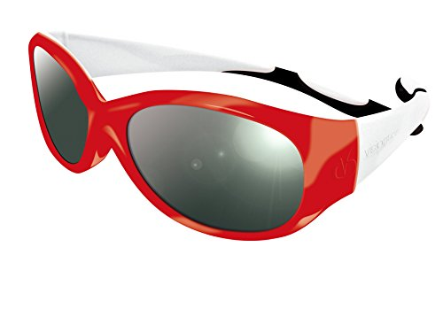Visiomed Baby VisiopticaKids - Gafas de vista, 4-8 años, color rojo, blanco y negro