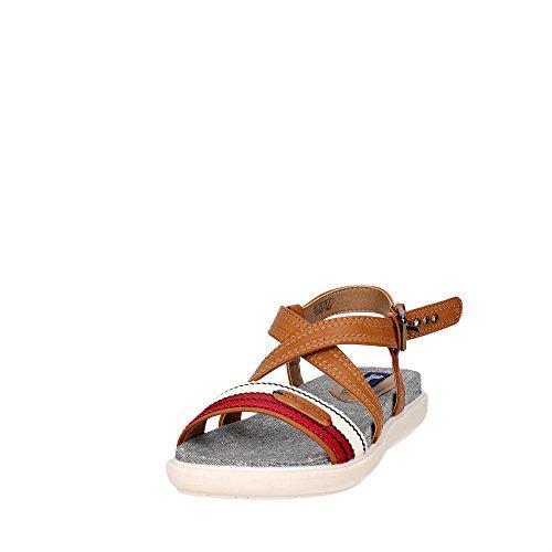 Wrangler WL171663 Sandalo Donna cuoio beige rosso