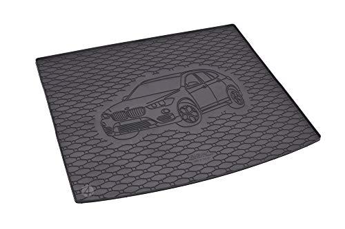 Passgenau Kofferraumwanne geeignet für BMW X1 F48 ab 2016 ideal angepasst schwarz Kofferraummatte