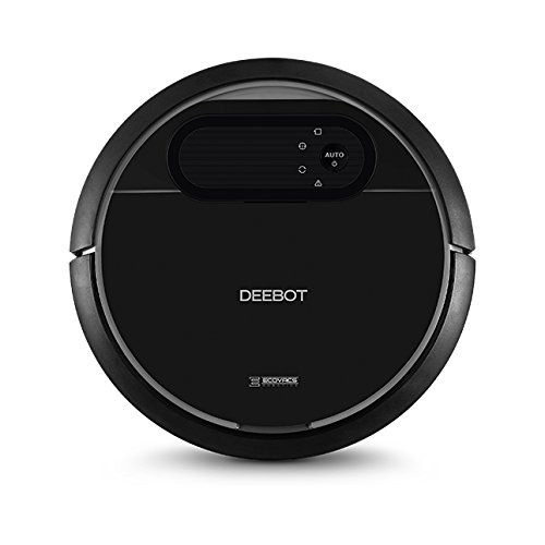 ECOVACS DEEBOT N78 robot vacuum – High suction for pet fur and allergens, auto self-charging, drop sensor – works on hard floor & thin carpet – 2 year warranty