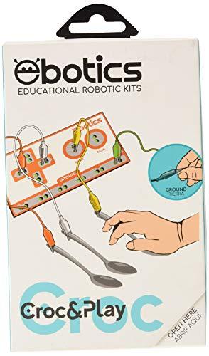 Ebotics Croc & Play - Kit creación interactiva (17 entradas, toma de tierra)