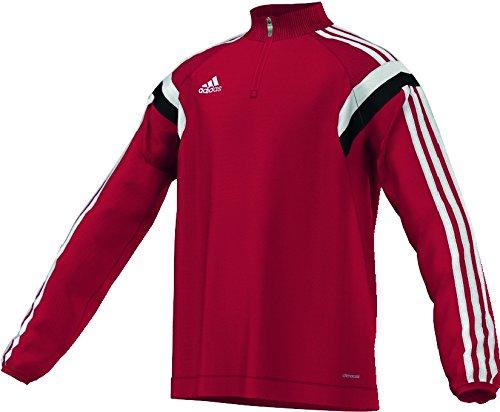 adidas Herren Poloshirt Condivo 14 University Red/White/Black