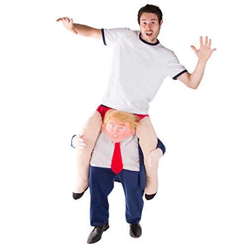 Kostüm Fancy Notre Dame Von Dress Glöckner - Bodysocks® Donald Trump Huckepack (Carry Me) Kostüm für Erwachsene