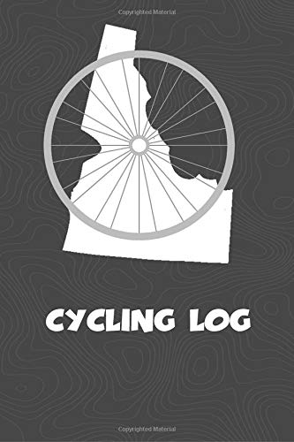 Cycling Log: Idaho Cycling Log for tracking and monitoring your workouts and progress towards your bicycling goals. A great fitness resource for any ... Bicyclists will love this way to track goals! por KwG Creates