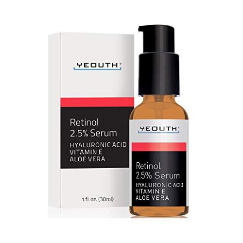 Retinol Sérum 2,5% ácido hialurónico, aloe vera